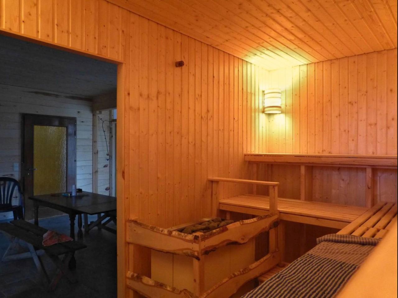 Sauna – Ferien-Wohnung Lomitz