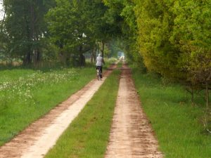 endlos Fahrrad fahren